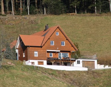 Beautiful farm at 750 meters altitude in the Northern black forest