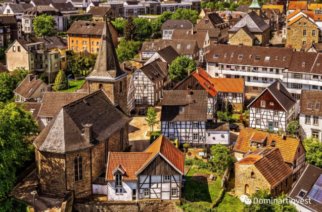 The old houses in Germany